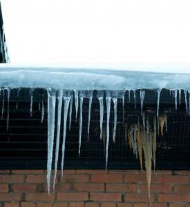 Ice dams are a sure sign of heat loss and energy waste