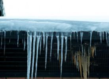 Ice damns are a sure sign of energy waste.